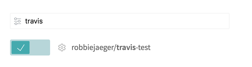 Turn on repository TravisCI